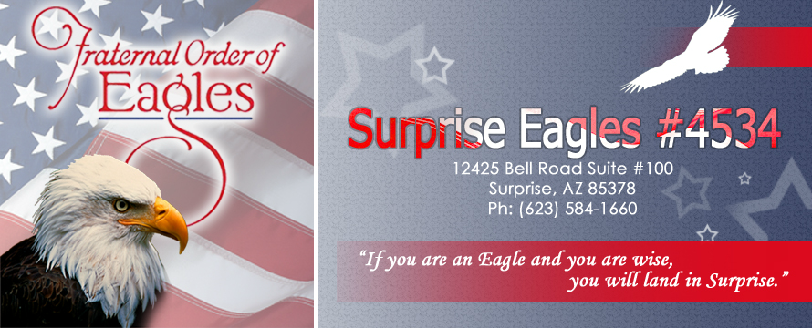 Surprise Eagles Aerie 4534 Home